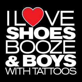 Free i luv shoes booze n boys with tattoos (black) phone wallpaper by char_mel