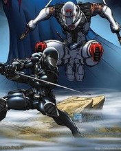 Free Storm Shadow vs. Snake Eyes.jpg phone wallpaper by mkximus