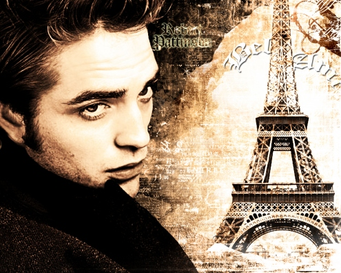 Free Robert pattinson-eifel tower.jpg phone wallpaper by twifranny