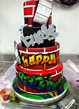 Free chris browns bday cake 2011 phone wallpaper by char_mel
