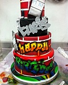 chris browns bday cake 2011