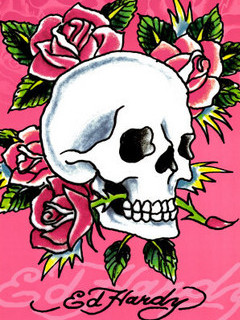 Free Ed Hardy phone wallpaper by poisonedlily