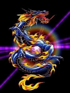 Free colorful dragon.jpg phone wallpaper by twifranny