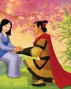 Mulan & Shang wallpaper 1