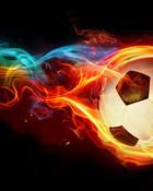 fire-soccer-ball-.jpg wallpaper 1