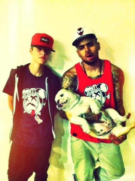 Free Justin+Chris=SWAG! phone wallpaper by araceli9