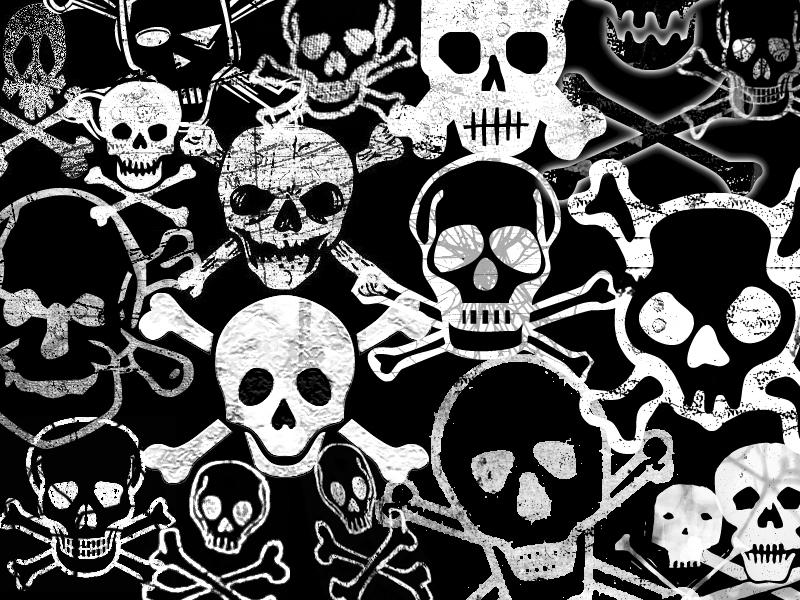 Free Danger skulls jpg phone wallpaper by twifranny