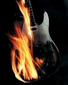 Flamin Guitar.jpg wallpaper 1