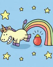 Free Unicorn Poo phone wallpaper by SarahFrazer