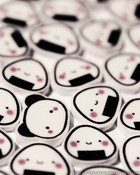 Kawaii Panda Erasers wallpaper 1