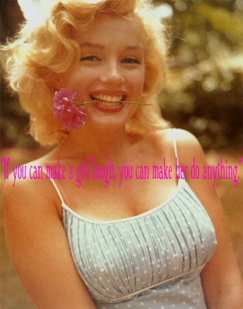 Free Marilyn quote phone wallpaper by emy317iheartvb