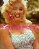 Marilyn quote wallpaper 1
