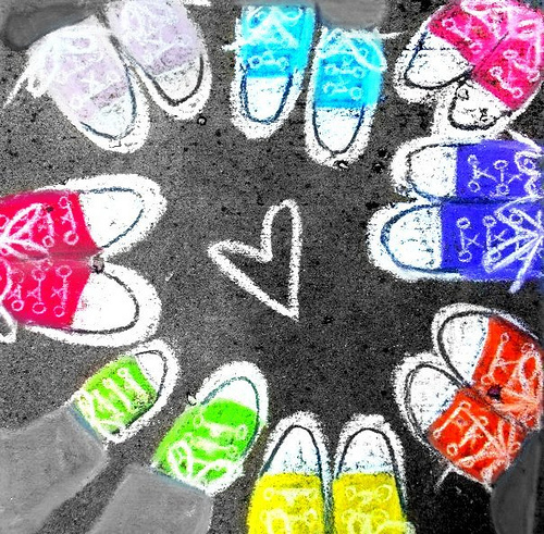 Free Colorful Converse Chalk phone wallpaper by mtpdotcom