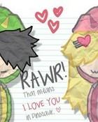 Rawr In Love wallpaper 1