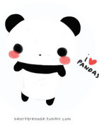 I Love Panda's wallpaper 1
