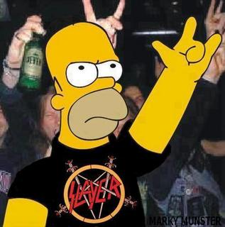 Free homer loves slayer.jpg phone wallpaper by duzzy61