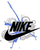 Nike logo wallpaper 1