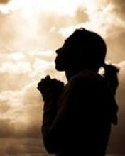 Free praying woman.jpg phone wallpaper by minialy