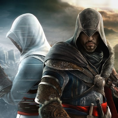 Free assassins Creed Revalation  Altair and Ezio Background phone wallpaper by russellauditore