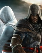 assassins Creed Revalation  Altair and Ezio Background