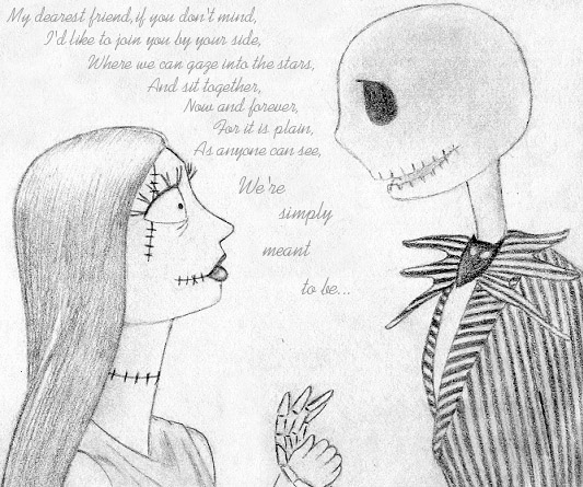 Free Jack and Sally Quote phone wallpaper by ally_leah