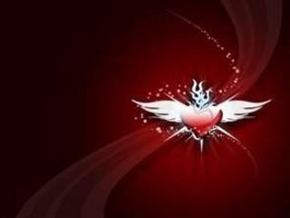 Free heart wings.jpg phone wallpaper by credulous2confute