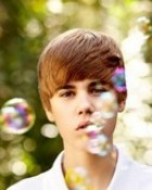 Justin Bieber Bubbles wallpaper 1