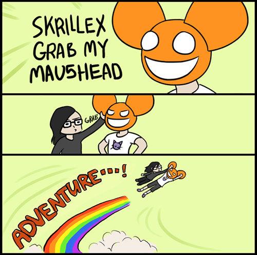 Free Skrillex+and+Deadmau5+adventure+Those+silly+dubstep+artists_9982bc_2363191.jpg phone wallpaper by victoriassecretangel