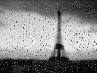 Free Rainy Paris Window phone wallpaper by missjas