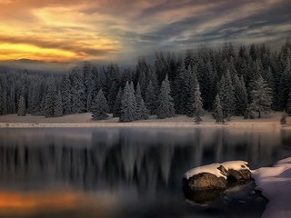 Free Beautiful Winter Lake HD phone wallpaper by missjas
