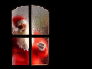 Free Santa Knockin phone wallpaper by missjas