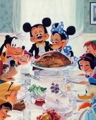 Mickey and Friends Thanksgiving