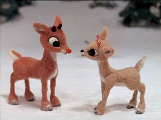 Free Rudolph and Clarice phone wallpaper by missjas