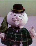 Sam Snowman Rudolph wallpaper 1