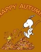 Happy Autumn Snoopy
