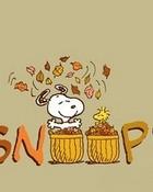 Happy Autumn Snoopy 2