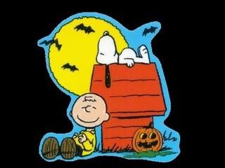 Free Charlie Brown Halloween phone wallpaper by missjas