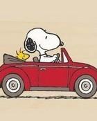 Road Trip Snoopy