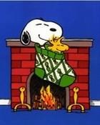Snoopy Christmas Snuggle