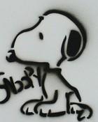 Snoopy Stencil Wide