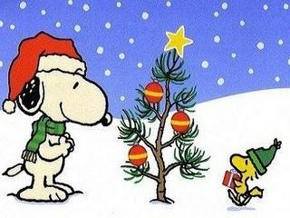 Free Snoopy Christmas Tree phone wallpaper by missjas