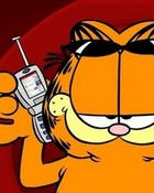 Cell Phone Garfield