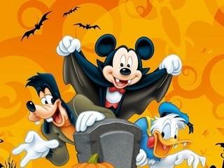 Free Halloween Disney phone wallpaper by missjas