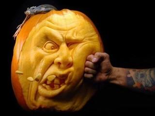Free Outstanding Pumpkin Carving 3 phone wallpaper by missjas