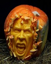 Free Outstanding Pumpkin Carving 7 phone wallpaper by missjas