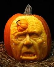 Free Outstanding Pumpkin Carving 8 phone wallpaper by missjas