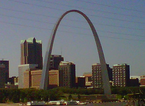 Free St.Louis Arch phone wallpaper by amydere