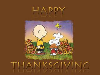 Free Happy Thanksgiving Charlie Brown phone wallpaper by missjas