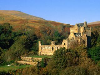 Free Castle Campbell Scotland phone wallpaper by missjas