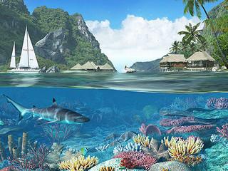 Free Tropical Paradise phone wallpaper by missjas